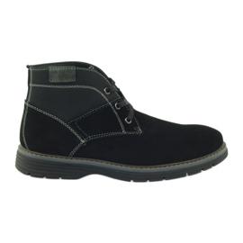 McKey negro Zapatos de tobillo de gamuza 284