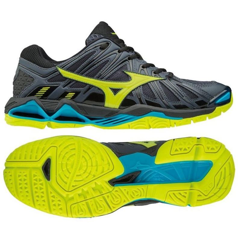 Zapatillas de voleibol Mizuno Wave Tornado X2 M V1GA181247 negro negro