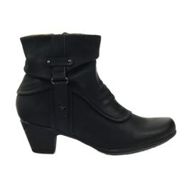 Botas negras súper cómodas Aloeloe. negro