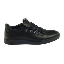 Zapatillas negras Pilpol PC051 negro