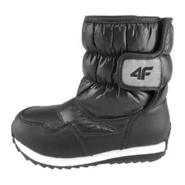 Zapatos de invierno 4f Jr HJZ18-JOBDW001 negro