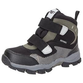 Zapatos de invierno 4f Jr HJZ18-JOBMW002 negro
