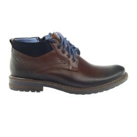 Zapatos de hombre marrón Nikopol 686