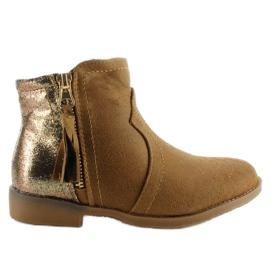 Marrón Botas botas basura K1647301 Camel