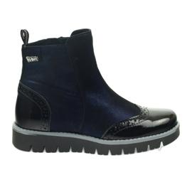 Ren But Botas calientes Ren Boot 4379 azul marino