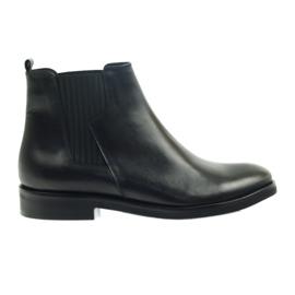 Botas Edeo negras slip-in 3244 negro