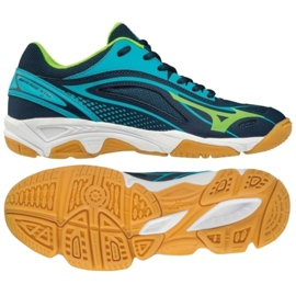 Zapatillas de balonmano Mizuno Mirage Star 2 Jr. X1GC170536 azul