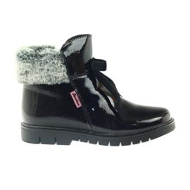 American Club negro Botas americanas botas botas de invierno 18015