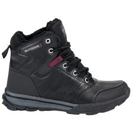 Negro Zapatillas de trekking para mujer de MCKEYLOR