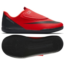 Zapatos de interior Nike Mercurial Vapor 12 Club Ps (V) CR7 Ic Jr AJ3107-600