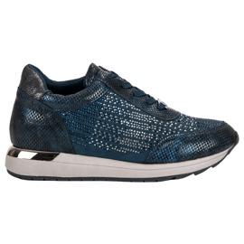 Kylie Calzado deportivo de moda azul