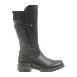 Ren But Bota larga Ren Boot negra 4371