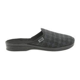 Negro Zapatillas de hombre Befado Zapatillas 089M408 negras