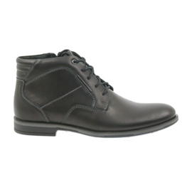 Negro Zapatos de hombre Riko botines Jodhpur 861
