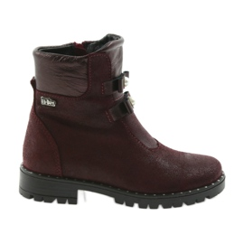 Botas de chicas Ren But 3314 Burdeos