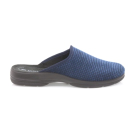 Inblu marina Zapatillas de hombre azul marino.