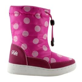 K1646109 botas de oralion rosa para niños