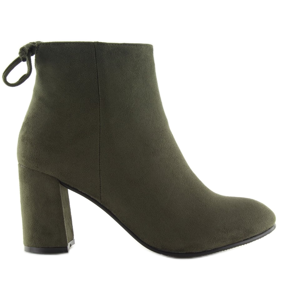 diseño atemporal b9efd c3ea3 Zapatos de tacones verdes verde 7357-GA