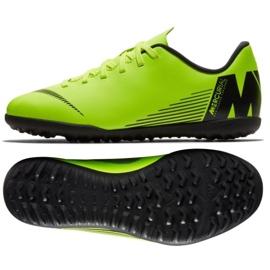 Zapatillas de fútbol Nike Mercurial Vapor X 12 Club Tf Jr AH7355-701