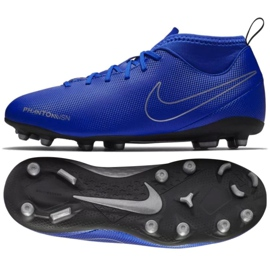 Zapatillas de fútbol Nike Phantom Vsn Club Df Fg Mg Jr AO3288-400