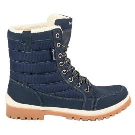 Azul Botas de nieve MCKEYLOR