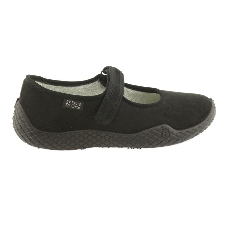 Zapatos de mujer befado pu - joven 197D002 negro
