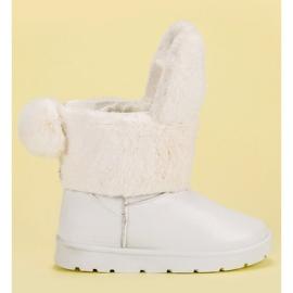 Seastar blanco Botas de nieve mukluki
