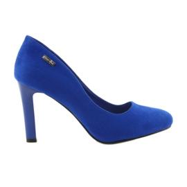 Sergio Leone Bombas de gamuza 1457 azul