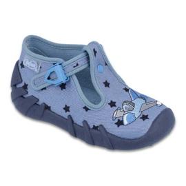 Azul Zapatos befado de colores para niños 110P345.