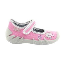 Rosa Zapatillas befado para niños 109P180