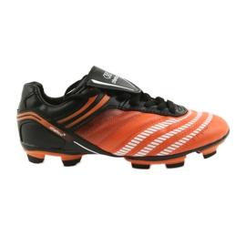 Botas de fútbol de atletico 1216 negro, naranja naranja