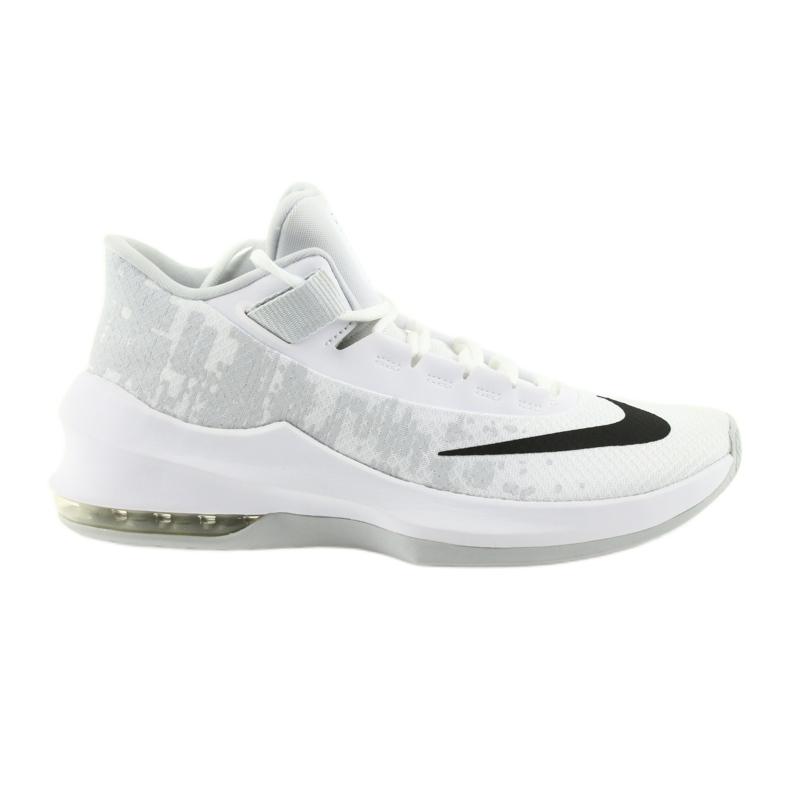 Zapatillas de baloncesto Nike Air Max Infuriate 2 blanco blanco