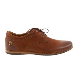 Marrón Riko zapatos de tacones bajos 877