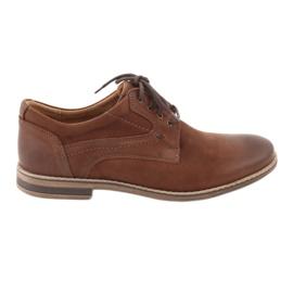 Marrón Zapatos de hombre riko escotados 831