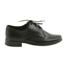 Negro Zapatillas miko zapatillas niños comunión.