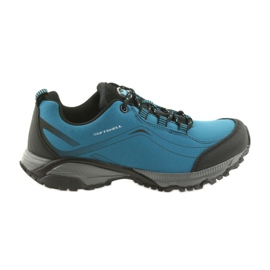 American Club Zapatillas deportivas para mujer ADI atadas softhell impermeable estadounidense WT06 / 19 azul