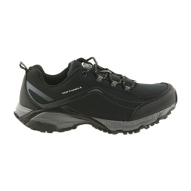 American Club ADI atado calzado deportivo americano impermeable suave WT04 / 19 negro