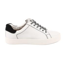 Zapatillas blancas para mujer Caprice 23203 ancho ajustable