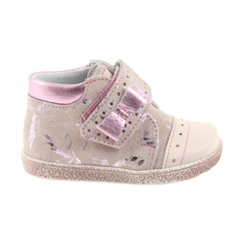Ren But Zapatos de bebé con velcro-botines Ren pero 1535 flamencos rosados