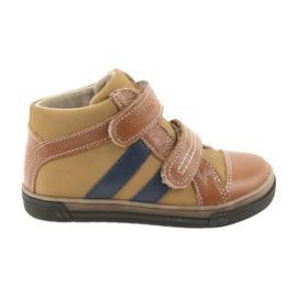 Zapatos boote botas infantiles Ren But 3225 rojo / azul marino.