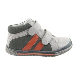 Zapatillas Boote Velcro botas Ren But 3225 gris / naranja