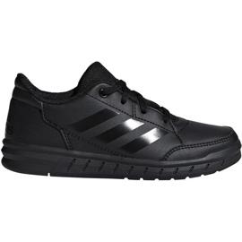 Negro Zapatillas Adidas AltaSport K Jr. D96873