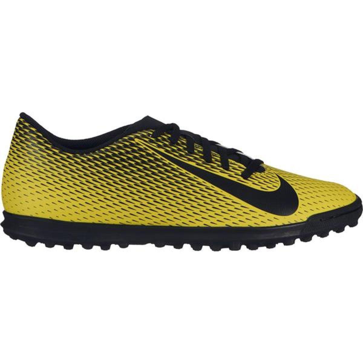 Zapatillas de fútbol Nike Bravatax Ii Tf M 844437 701 amarillo amarillo