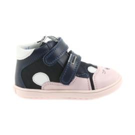 Botas zapatos niños velcro conejo Bartek 11702