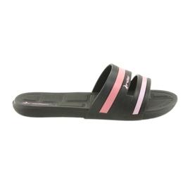 Zapatillas de piscina para mujer Rider 82504 negras