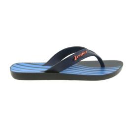 Zapatillas infantiles Rider 11214 azul marino.