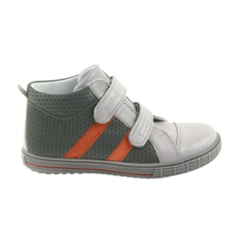 Ren But Zapatillas Boote de velcro para niños Ren 4275 gris / naranja.
