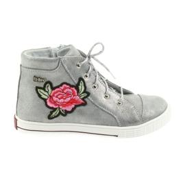 Ren But gris Zapato zapatillas chicas plata ren pero 4279