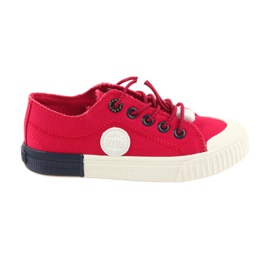 Big Star rojo Zapatillas grandes rojas Zapatillas 374004