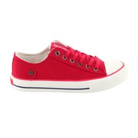 Zapatillas atadas rojas Big Star 274339 rojo